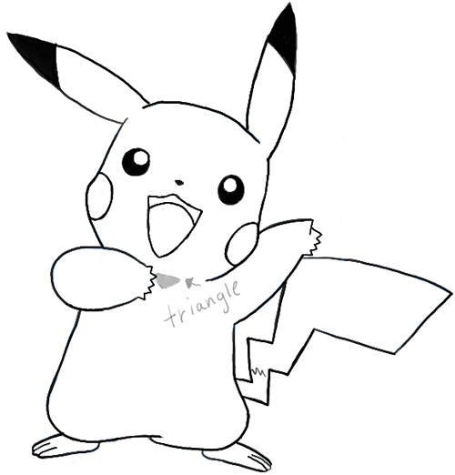 Cute Stitch On Side Wallpaper How To Draw Pikachu Saying Pika After Winning A Battle
