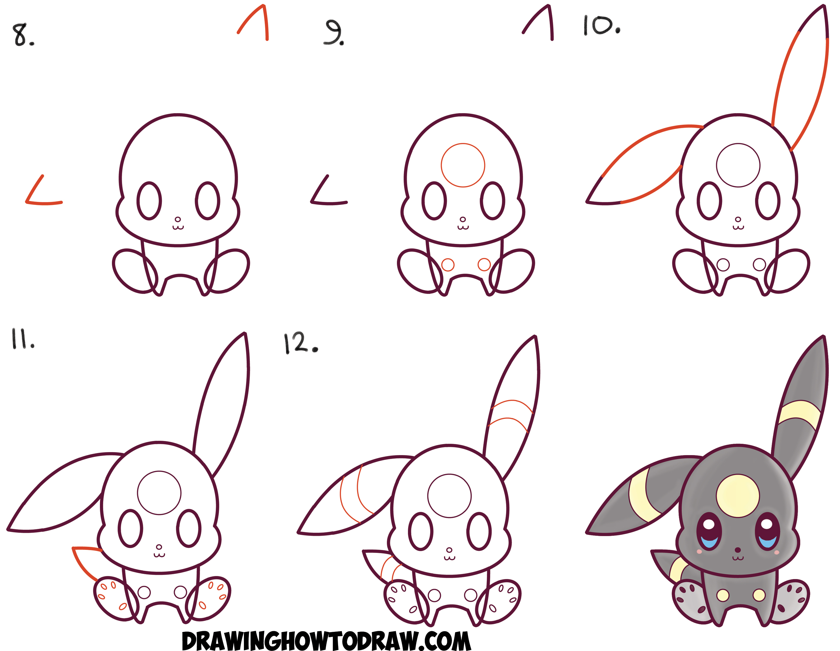 Download Step By Step How To Draw A Face For Kids How To Draw Cute Kawaii