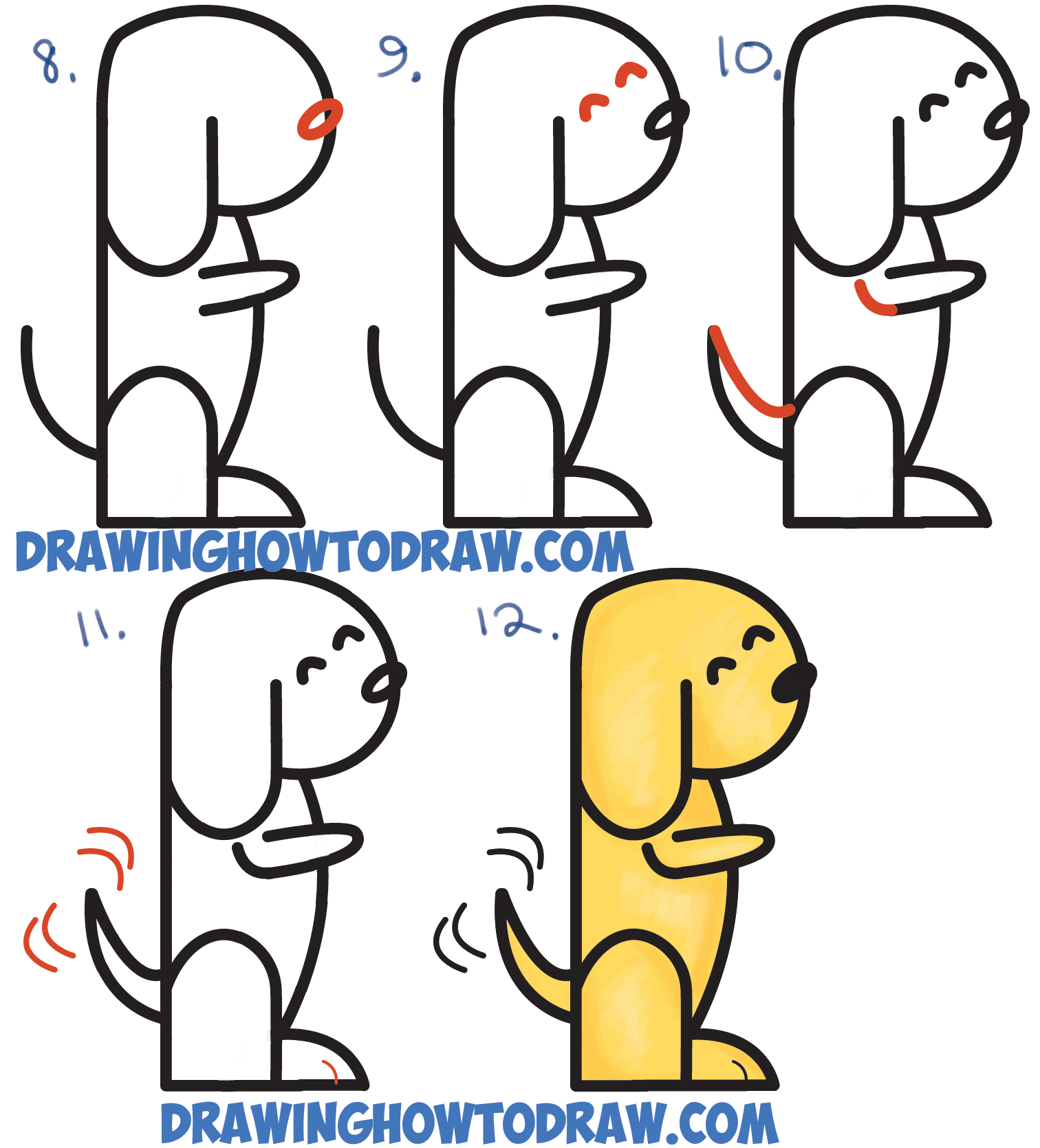 How To Draw A Number Dog Solution For How To For Dummies