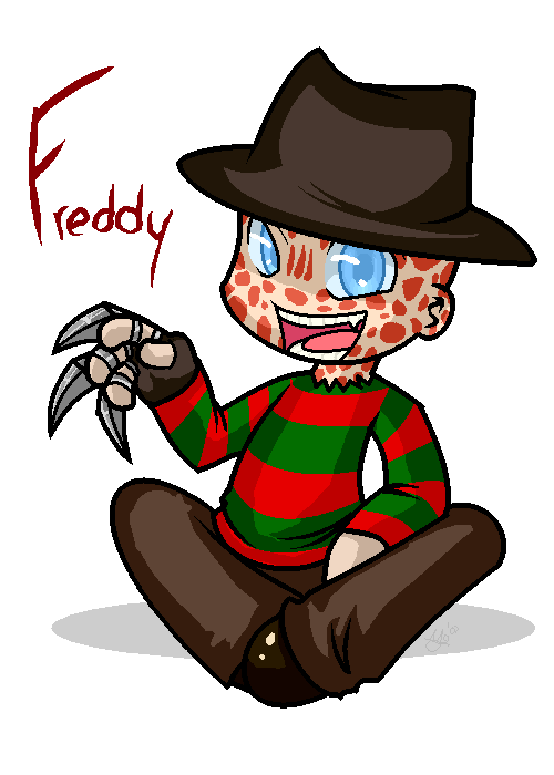 Mickey Mouse 3d Wallpaper Freddy Krueger Chibi Picture By Shadowfan Drawingnow
