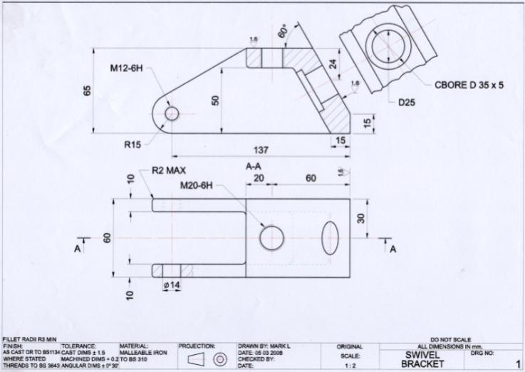 engineering drawings - Pinarkubkireklamowe