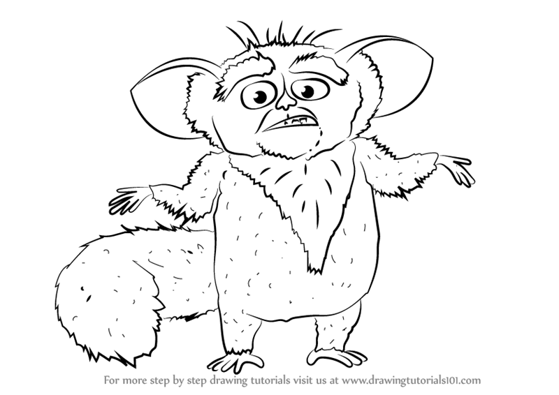 King Julian Coloring Pages - Costumepartyrun