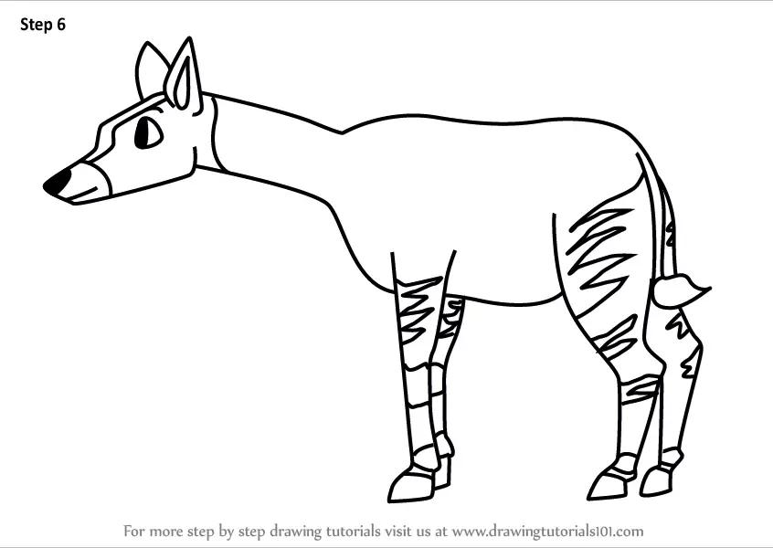 Okapi Coloring Pages - Eskayalitim