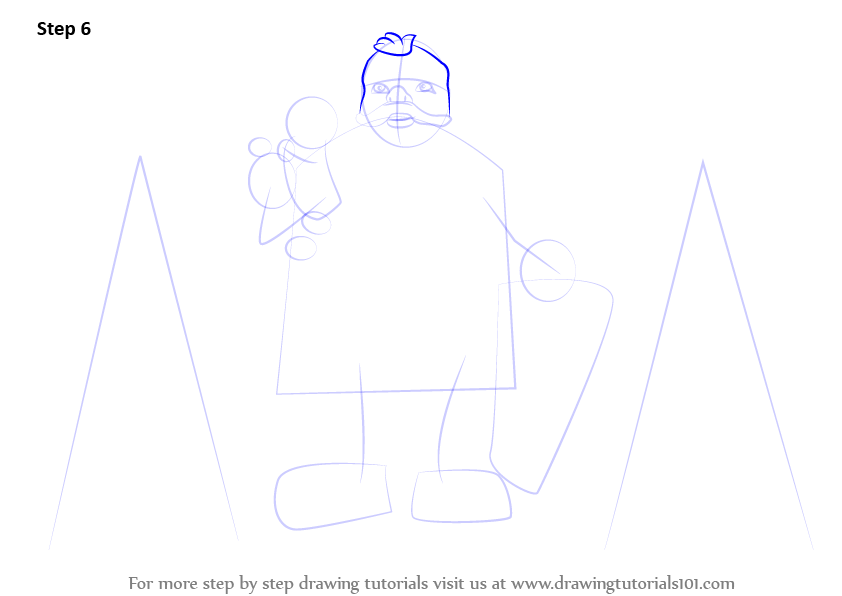 Step By Step How To Draw Santa Claus With Gifts