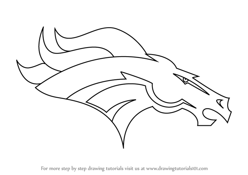 Denver Broncos Coloring Pages - Costumepartyrun