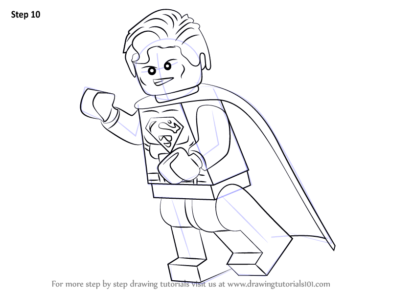 how to draw lego superman auto electrical wiring diagramhow to draw lego superman