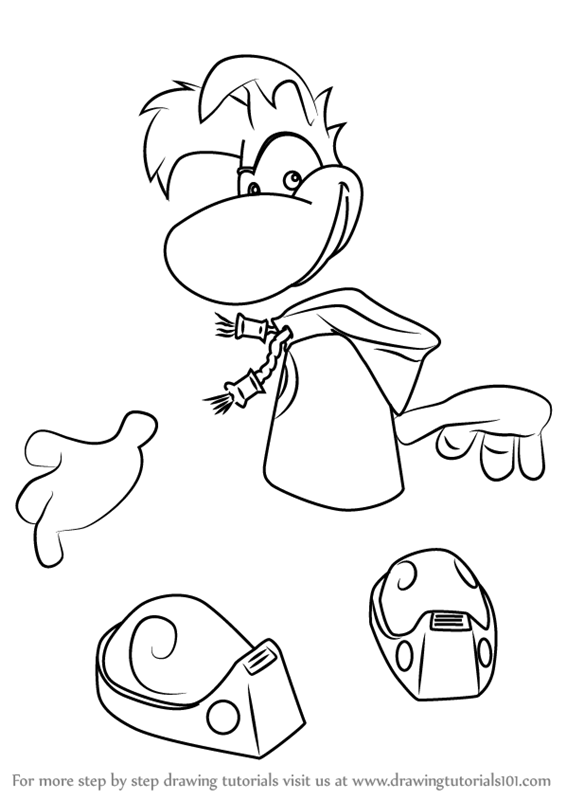 Rayman Coloring Pages Legends Coloring Pages Legends