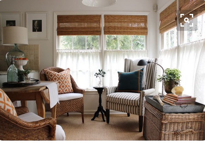 New, Modern Ways to Use Cafe Curtains Drawn - cafe curtains for living room