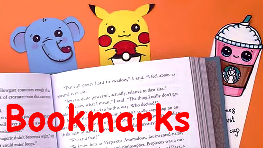 how to create my own bookmark