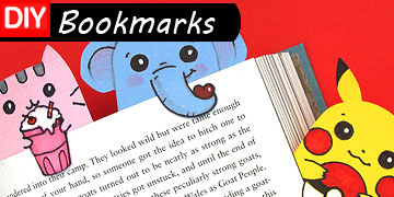 bookmarks diy craft