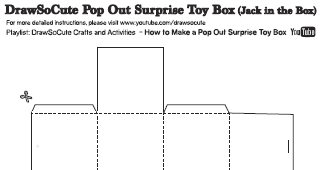 Make Your Own Jack In The Box Toy