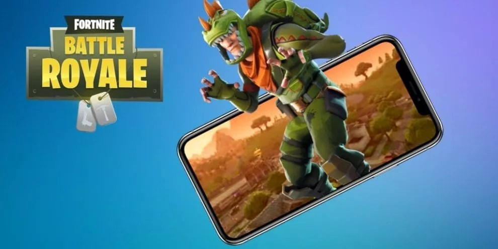 Ios 11 4 Wallpaper On Iphone X Rilasciato Fortnite Mobile Addio Inviti Drcommodore