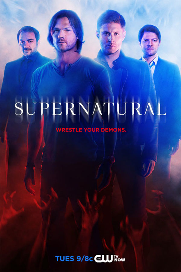 Official Supernatural Season 10 Artwork Revealed!