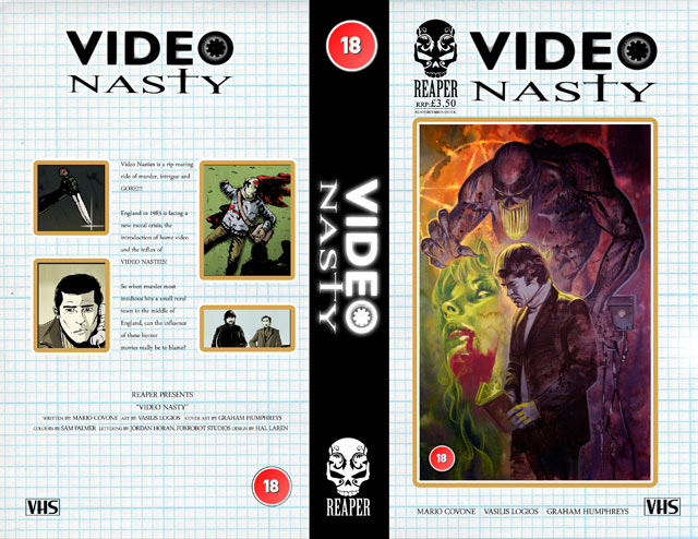 Behold the Video Nasty VHS Collector Set