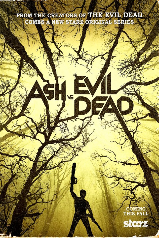 AVED Teaser 1200x1800 Final - #SDCC15: More Ash Vs. Evil Dead Images Get Chainsaw Happy