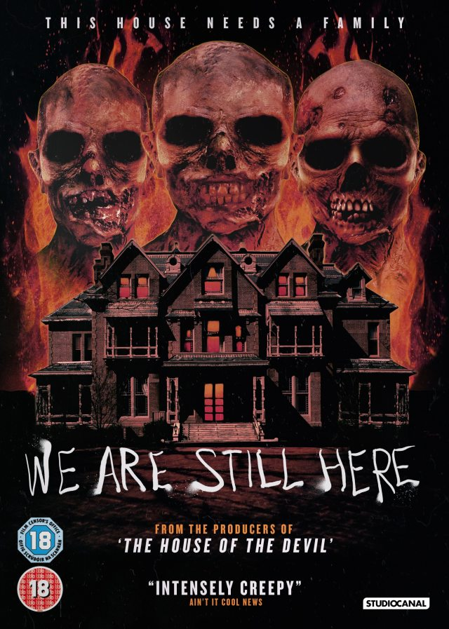 We Tend To Be Still Here UK DVD Artwork
