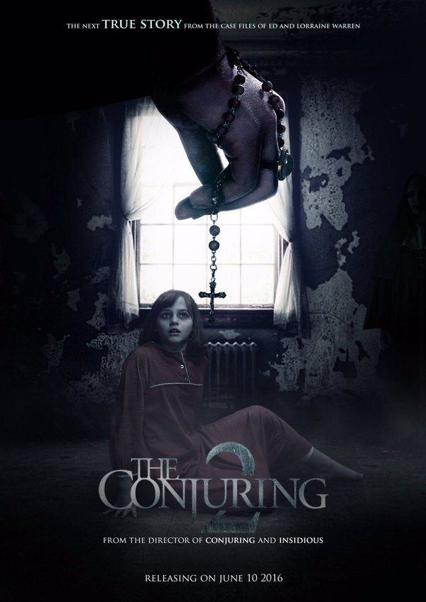 conjuring 2 poster.jpg?zoom=1 - The Conjuring 2 Looking to Capture #1 Spot; James Wan Pranks Brazilian TV