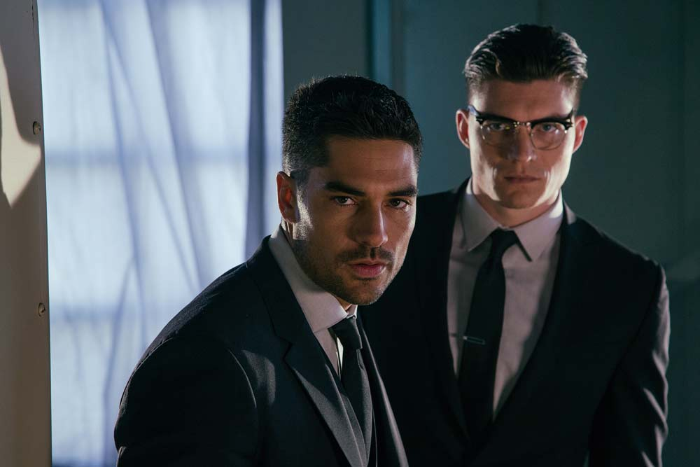 Dusk has always been a Gecko Brothers story, and Seth (D.J. Cotrona) and Richie (Zane Holtz) are definitely back. When Season 3 opens, they're working for the culebra crime bosses - but when that world gets blown up, the boys start putting together a crew to take on a dark new threat. L to R - D.J. Cotrona (Seth Gecko), Zane Holtz (Richie Gecko) Photo: Robert Rodriguez/ El Rey Network and Miramax