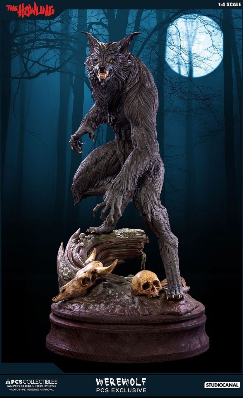 The Howling Werewolf Statue Will Have You Howling With