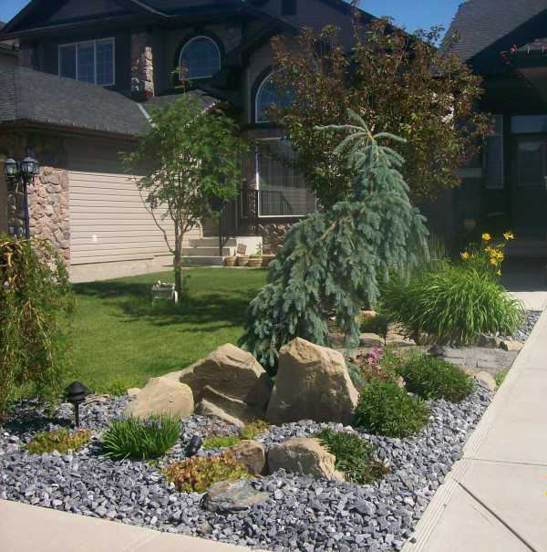 Small low maintenance front yard landscaping ideas
