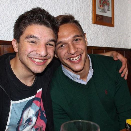 Sascha and I
