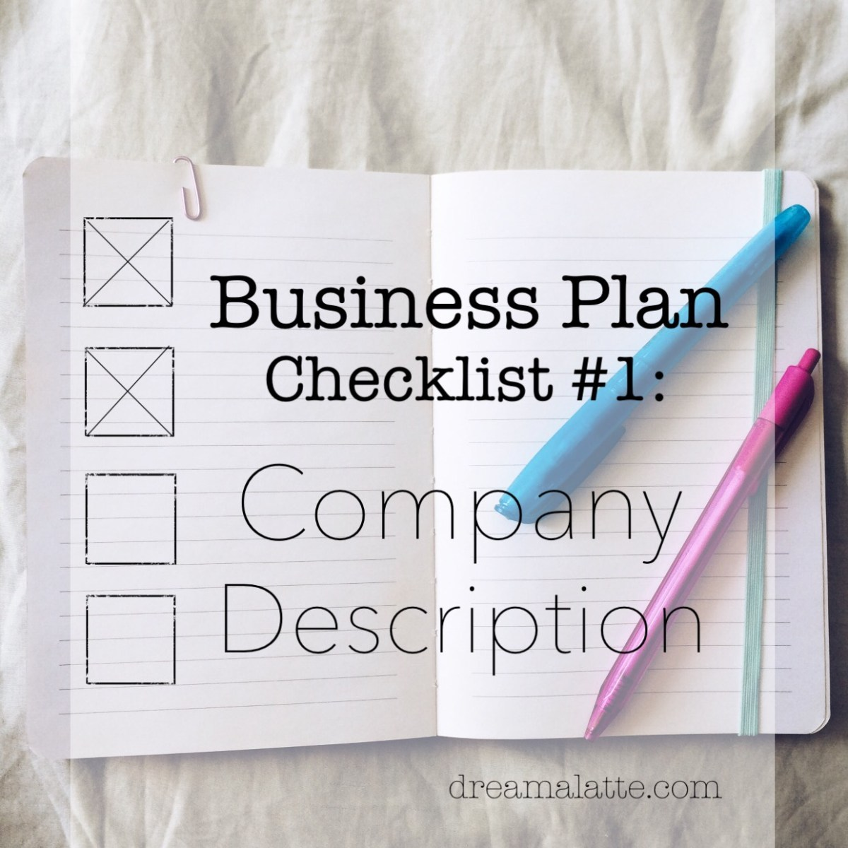 Coffee Shop Business Plan: Company Description