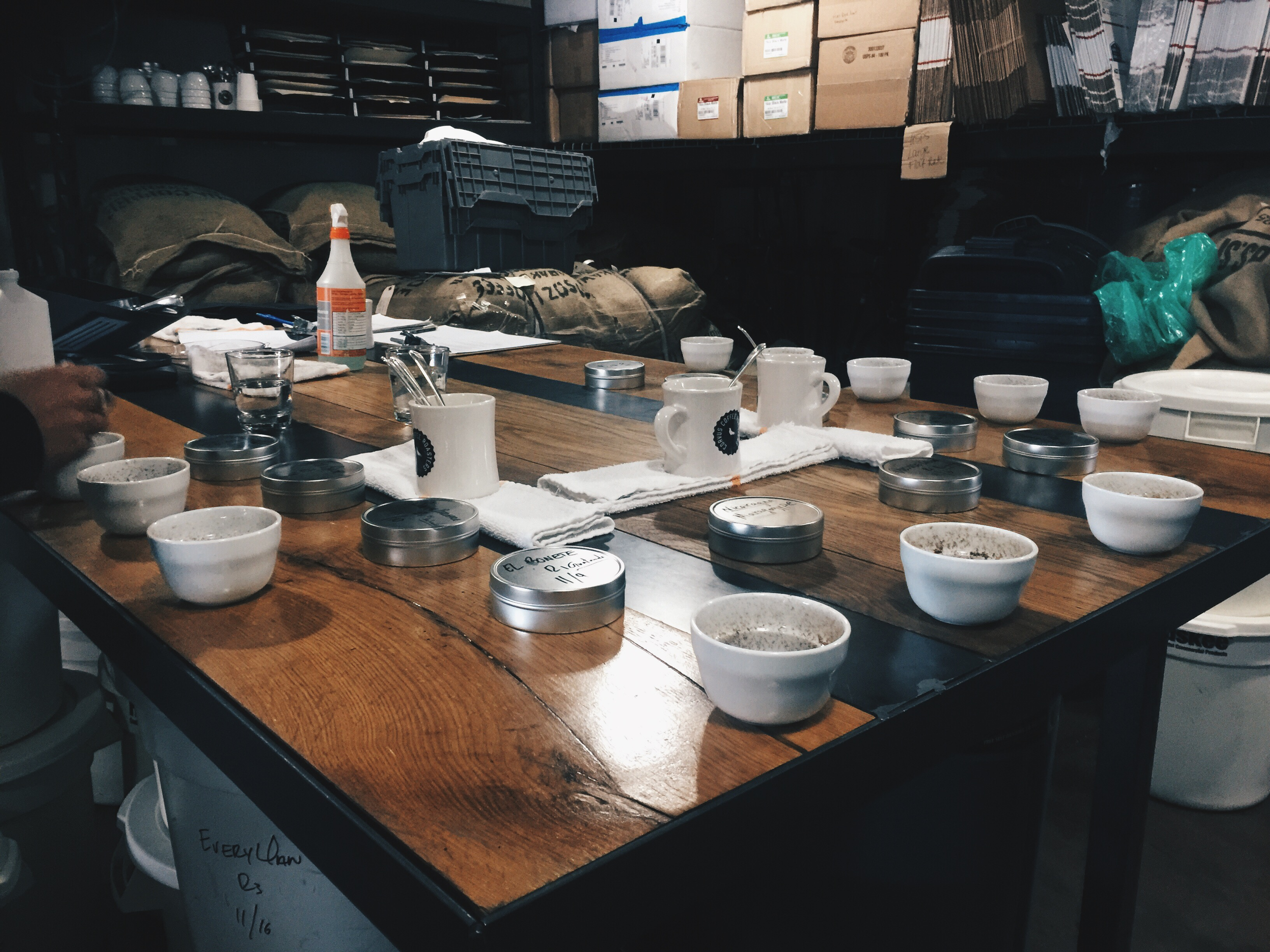 Coffee Cupping Dream a Latte