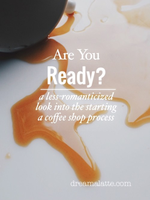 Starting a Coffee Shop - Are you ready?