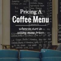 Pricing a Menu