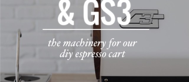 The Espresso Cart & GS3