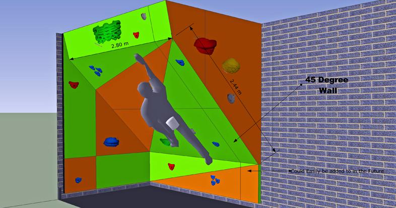 Home Climbing Wall Design
