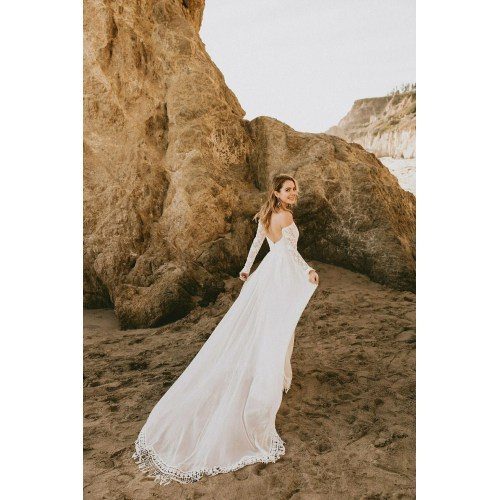 Medium Crop Of Off Shoulder Wedding Dress