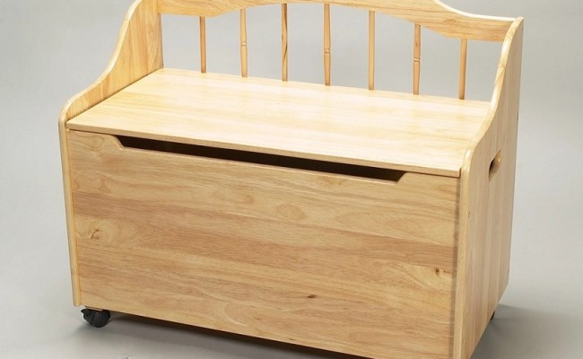 Dreamfurniture 4025n Deacon Bench Styled Toy Chest