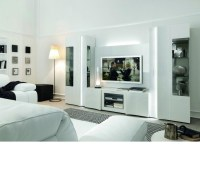 DreamFurniture.com - Armonia - Modern Glossy Entertainment ...