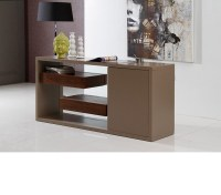 DreamFurniture.com - Levi - Contemporary Buffet With ...
