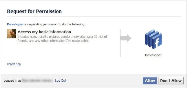facebook developer access