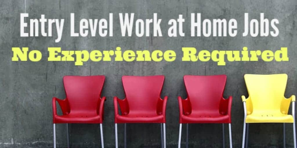 How To Find Online Entry Level No Experience Work from Home Jobs