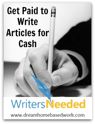 Writers Needed Work from Home Writing Jobs - Work Articles