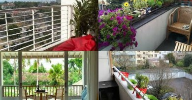 7 Ideas to decorate your balcony