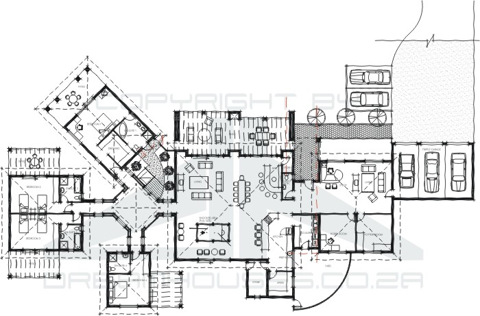 Home Plans With Guest House free business plan for guest house - house plans