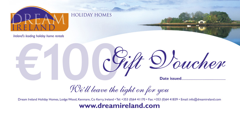 Christmas Gift Voucher Dream Ireland Holiday Homes