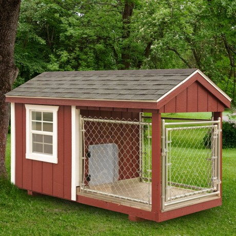 Shed Dog House Combo