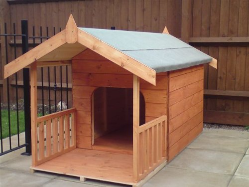 Easy Big Dog House Plans