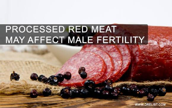 Processed Red Meat May Affect Male Fertility image