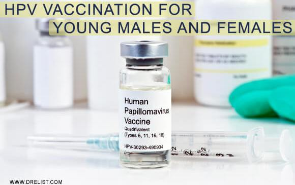 HPV Vaccination For Young Males And Females image