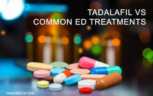 Tadalafil Vs. Common Erectile Dysfunction Treatments image