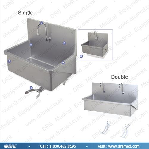 Medical Equipment Scrub Sink