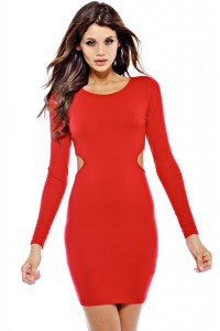 Red Bodycon Dress Picture Collection | Dressed Up Girl