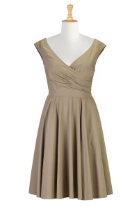 Beige Dress Picture Collection | Dressed Up Girl
