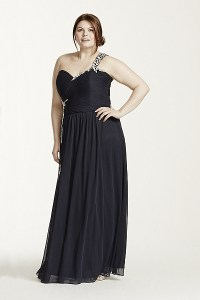 Plus Size Prom Dresses 2015 Black
